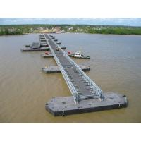 China Highway Bailey Steel Bridge , Modular Recyclable Military Floating Bridge wholesale