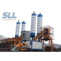 China PLD1600 Belt Type Concrete Batching Plant For Big / Medium Construction Project wholesale