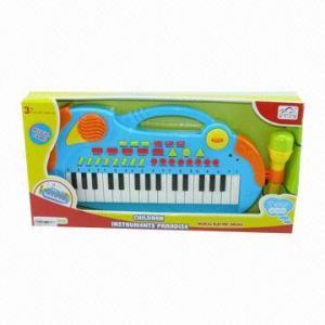 China Electronic Cartoon Organ, 43.0 x 5.5 x 21.5cm Box Size wholesale