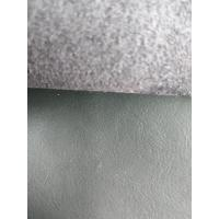 China 54 Inch Stretch Pleather Fabric , Car Seats Bonded Leather Upholstery Fabric wholesale