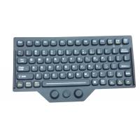China Customs Silicone Rubber Keyboard Layout Accessory With Carbon Conducting wholesale