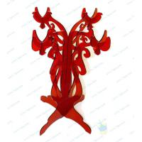 China CH (53) red Acrylic candle holder wholesale