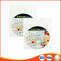 China Round Silicone Paper Sheets For Cooking / Baking , Professional Parchment Paper Sheets wholesale
