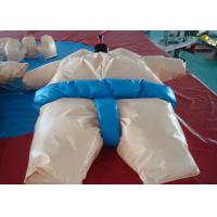 China Adult Inflatable Interactive Games , Funny Inflatable Sumo Wrestler Costume wholesale