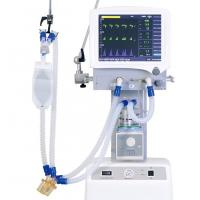 China Icu Medical Mechanical Ventilator Machine High Visibility Color Tft Display on sale