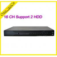 China 16 Channel Surveillance Network Video Recorder HVR 2 HDD For IP Camera Recording wholesale