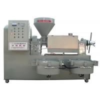 China Peanut / Soybean / Sesame Automatic Screw Oil Press Machine With Electric Motor wholesale