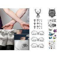 China Custom long lasting removable waterproof  temporary tattoo sticker for body wholesale