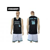 China Wholesale Sublimation Dri Fit Shirts Basketball Jersey For Men wholesale