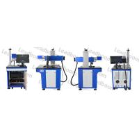 China High Efficiency Co2 Laser Marking Machine Blue Color For QR Code / Paper Boxes wholesale