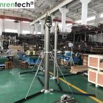 China 15m lockable pneumatic telescopic mast 15kg payloads-aluminum pneumatic telescopic mast wholesale