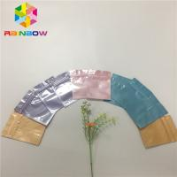 China Customize Print Foil Pouch Packaging Heat Seal Mask Pouch With Bottom Filling wholesale