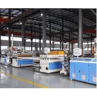 China Plastic WPC Foam Board Machine / PVC WPC Doam Board Making Machine wholesale