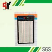 China Reusable Prototyping Breadboard 4 Distribution Strip Prototype Circuit Boards wholesale