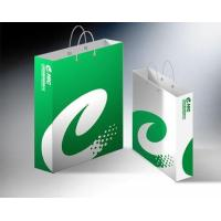 China White kraft paper shopping bag_China printing factory wholesale