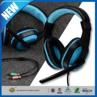 China Mic Deep Bass Headphone or Earphone 3.5mm Stereo Surround Sound Gaming on sale