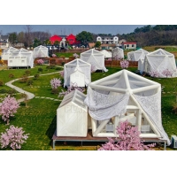 China Internet Celebrity House Hotel Restaurant Commercial Outdoor Transparent Scenic Starry Sky Inflatable Lawn Tent Bubble wholesale