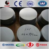 China 301 304 304L 316 316L Cold Rolled Stainless Steel Circles SS Coil Mirror Finished wholesale