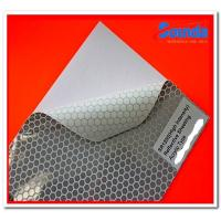 China Self Adhesive Vinyl Reflective Sign Material , Acrylic Type Sign Making Material wholesale