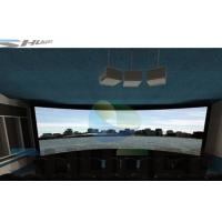 China Special Effect 4D Cinema System With Motion Chair , Flat / Arc/ Circular / Globular Screen wholesale