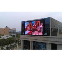 China Flexible HD Outdoor Full Color LED Display P10 1R1G1B Transparant with 8000brightness,3years warranty wholesale