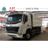 China HOWO A7 10 Wheeler Dump Truck 380 HP Engine Euro IV For Philippines Mining on sale