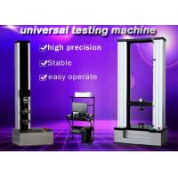 China WDW-10 10KN desktop two columns computerized Electronic Universal ultimate Testing Machine wholesale