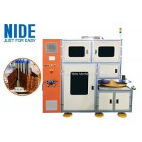 China Stator Coil Winding Machine Middle Size Automatic Type Two Stations Structure wholesale