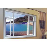 China Good Drainage Upvc Casement Windows , Upvc Upvc Window Frames For Villa wholesale