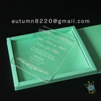 China good quality wedding invitation sleeves wholesale