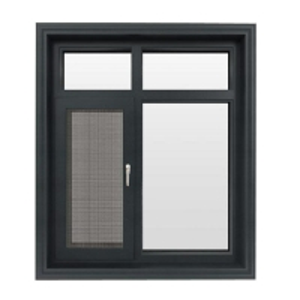China T3-T8 6063 6060 Aluminium Window Profiles Mill Finish Swinging Casement wholesale