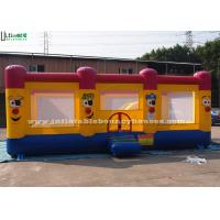 Buy cheap 3 In 1 Clown Inflatable Jumping Castles For Fun Party , Bounce House Rentals from wholesalers