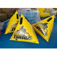 China 1.5 Meter Swimming Area Marker Buoy , Yellow Buoy Marker OEM Acceptable wholesale