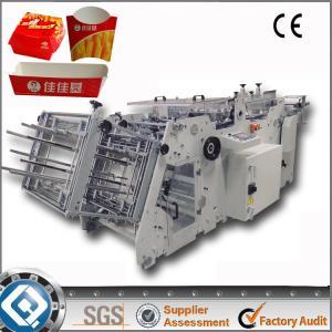 China 180 Boxes Take-Away Food Box Making Machine on sale