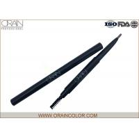 China Delicate Round Shape Lead Auto Eyebrow Pencil For Formal Eye Makeup wholesale