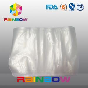 China Transparent Food Grade Vacuum Seal Bag / Sous Vide Cooking Vacuum Channal Bags wholesale