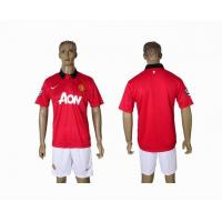 China Manchester United home club football cloths wholesale