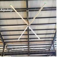 China 2.2KW High Volume Ceiling Fans AWF73 Energy Saving 10 Blade Ceiling Fan wholesale