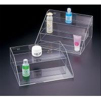 Quality Transparent Acrylic Cosmetic Display , 3 Tier Acrylic Display Case with Drawers for sale