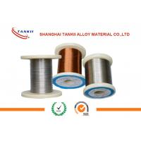 China Karma Enamelled Wire Dia 0.08mm Resistance Heating Wire for Precision Instrument wholesale