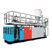 Buy cheap High Efficient PC Barrel Water Bucket Extrusion Blow Molding Machine from wholesalers