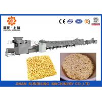 China Ss Instant Noodle Making Machine / Instant Noodle Processing Line Low Consumption on sale