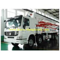 China 120m3 Output Truck Mounted Concrete Pump Automatic Control 48m Boom with warranty wholesale