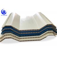 Insulation Hollow Twin Wall Roofing Sheets Corrugated Anti Impact Resistance