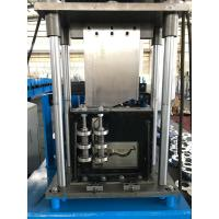 China Yellow And Blue Pre Engineering Building Forming Machine Adjustable Feeding wholesale