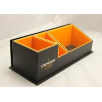 China Multi-function Acrylic Stationery Holder , Plexiglass Pen Holder wholesale