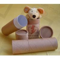 China Luxury Kraft Paper Cans Packaging Wine Bottle Presentation Box wholesale