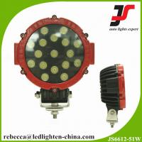 China 51W Red LED Offroad Work Light 12V Automotive LED Work Light for 4x4 Accessories wholesale