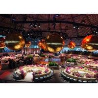 China Advertising Large Decorative Mirrors Inflatable Mirror Ball Colorful Mirror Balloon For Event Party wholesale