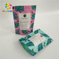 China Colorful Stand Up Pouch Bags Matt Surface With Top Ziplock Tear Notches wholesale